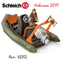 Schleich 42352 Шлюпка Dinghy with ranger