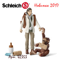 Schleich 42353 Ветеринар за работой Vet at work