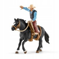 Schleich 41416 Ковбой Saddle bronc riding with cowboy