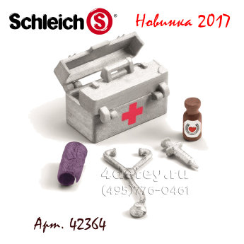 Schleich 42364 Медицинский набор Stable medical kit