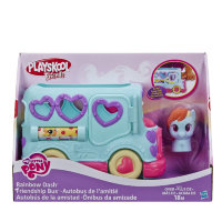 Hasbro B1912 Автобус дружбы Рейнбоу Дэш My Little Pony Playskool friends