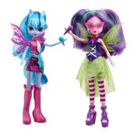 Hasbro A9223 My little Pony Equestria Girls Rainbow Rocks Aria Blaze and Sonata Dusk Doll 2-Pack