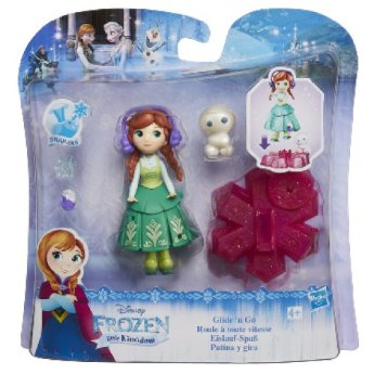 HASBRO B9249 Кукла DISNEY FROZEN на движущейся платформе-снежинке Кукла B9249 DISNEY FROZEN на движущейся платформе-снежинке HASBRO