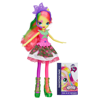 Hasbro A3994 My Little Pony Флаттершай Equestria Girls Neon Rainbow Rocks Fluttershy Doll